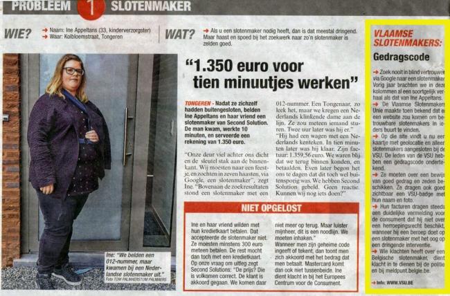 Meer dan € 1000 voor 10 minuten werk