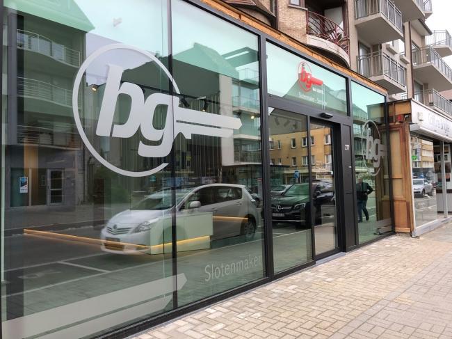 Slotenmaker BG pakt uit met gloednieuwe concept store